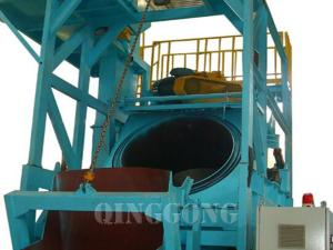 barrel type shot blasting machine 3