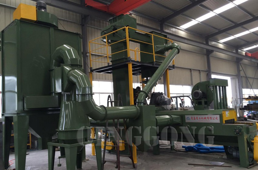 pavers shot blasting machine 2